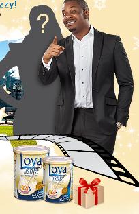 loya milk tv advert with don jazzy nigerian talent